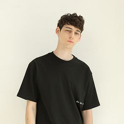 Liberty oversize t shirt black