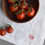 red keys linen tea towel (2set)