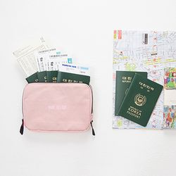 [~7/31까지] FAMILY PASSPORT BAG & POUCH