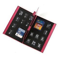 메모리카드 케이스 SD TF 카드 유심 알루미늄 케이스