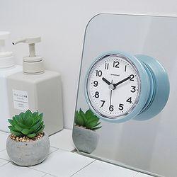 베이직욕실방수시계(6COLOR)거치대포함