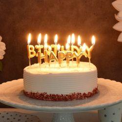 생일캔들 HAPPY BIRTHDAY 메탈릭