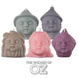 figure soy candle-The wizard of OZ GIFT SET