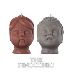 figure soy candle-Pinocchio GIFT SET