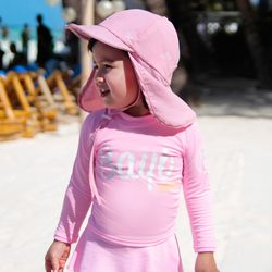 [BAY-B] 파스텔 핑크 래쉬가드