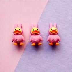 핑크옷 오리 1p