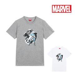 마블 캡틴 어셈블 여름반팔 티셔츠어벤져스정품티
