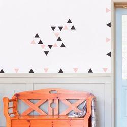 삼각형 패턴 월 데코스티커