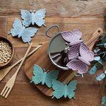 파스텔 실리콘 나비 냄비손잡이2Pset(3color)