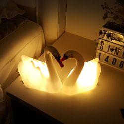 당일발송 스위트 스완 LED 수면 램프 2종세트