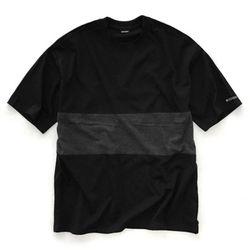 [레이쿠] overfit tshirt bc 배색오버핏 무지반팔티