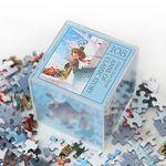 인디고 미니 퍼즐 108피스-앤 블루