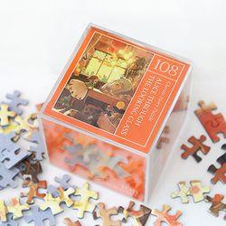 인디고 미니 퍼즐 108피스-앨리스 오렌지
