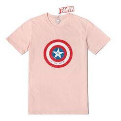 마블 정품 티셔츠 반팔 커플티 반팔티셔츠