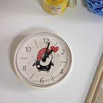 (kska022)펭귄 욕실 흡착시계 (화이트)