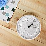(kska026)심플 욕실흡착시계(화이트)
