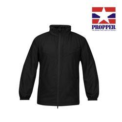 [프로퍼] 패커블 풀 짚 윈드셔츠 (블랙)