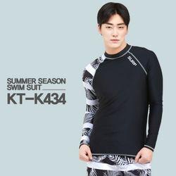쿠기 남성 래쉬가드 세트 KT-K434 + KT-435