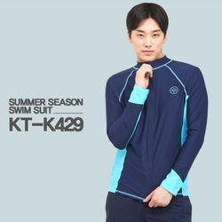 쿠기 남성 래쉬가드 세트 KT-K429 + KT-K431