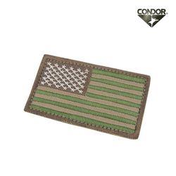 [콘도르] 미국 플래그 벨크로 패치 (멀티캠)