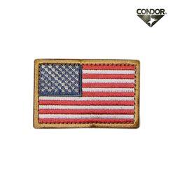 [콘도르] 미국 플래그 벨크로 패치 (컬러)