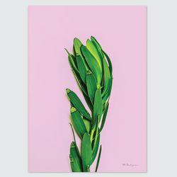 컬러팝 시리즈 디자인 포스터-바이올렛가든 (A4)