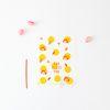 패키징 선물포장 비닐 10매 (타이) 도트제인