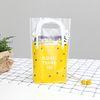 패키징 선물포장 비닐백 5매 (중) 젤리옐로우