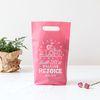 패키징 선물포장 비닐백 5매 (중) 젤리핑크