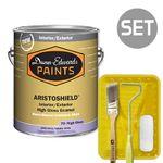 아리스토쉴드 고광 1L + 페인팅 도구세트 4인치