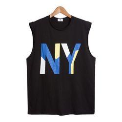 루즈핏 NY 나시 (3color) TSS027