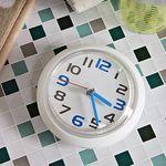 (kthx0451)욕실 흡착시계 (블루369 12)