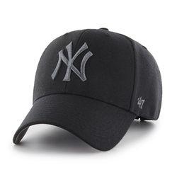 47브랜드 MLB모자 뉴욕 양키즈 울 블랙 스트럭처