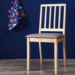 로로 원목 의자 2개