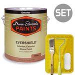 에버쉴드 고광 1L & 페인팅 도구세트 4인치