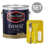 에베레스트 무광 1L & 페인팅 도구세트 4인치