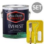 에베레스트 반광 1L & 페인팅 도구세트 4인치