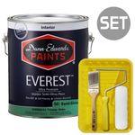 에베레스트 반광 4L & 페인팅 도구세트 7인치