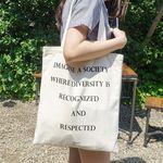 [구매시, 추가에코백 랜덤증정] Lettering Eco Bag (basic)