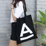 [구매시, 추가에코백 랜덤증정] A Logo Eco Bag (black)