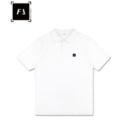 [FLION] 플리온 베이직 PK셔츠 - 화이트