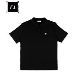 [FLION] 플리온 베이직 PK셔츠 - 블랙
