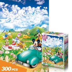 [300조각 유아동 직소퍼즐]미키의 피크닉(300-26)