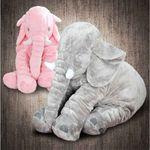 KC인증 안고자는 코끼리 애착인형 대형비만
