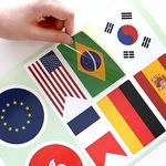 캐리어 스티커-국기