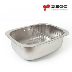 [무료배송] [키친아트] 일품 설거지통 스텐망포함(CN7109)