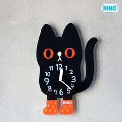 니노코리아-검은고양이(소)+아크릴받침대