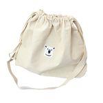 polar bear bucket bag