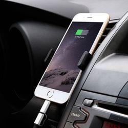 차량용 송풍구 핸드폰 스마트폰 원샷 거치대