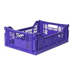 아이카사 폴딩박스 M violet